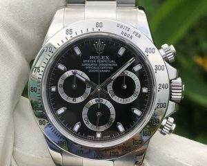 Rolex Daytona 116520 Black Dial Stainless Steel