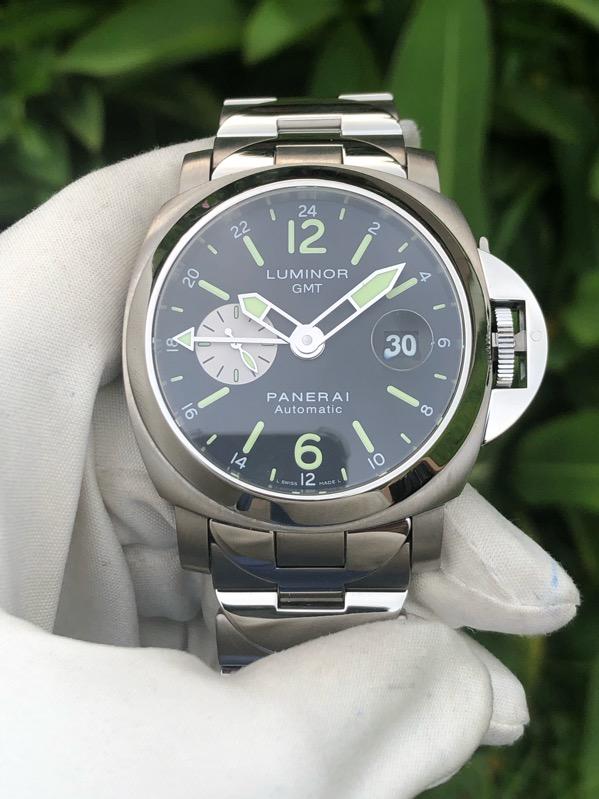 PANERAI PAM161 Luminor 44mm GMT In Steel & Titanium