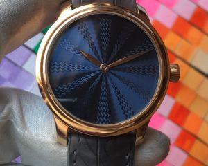H. Moser & Cie. Endeavour Concept Guilloché Blue Dial Limited Edition 10 Pcs 1321-0117