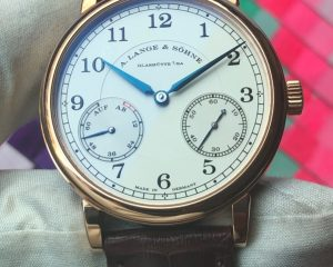 A Lange & Sohne 1815 Up/Down 18K Rose Gold 234.032