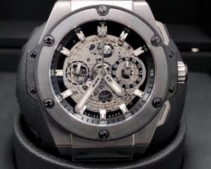 Hublot King Power Unico Skeleton Dial Titanium Chronograph 701.NX.0170.RX