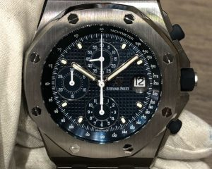 Audemars Piguet Royal Oak Offshore Chronograph 2018 Re-Edition 26237ST.OO.1000ST.01 Blue Dial
