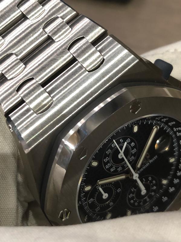 Audemars Piguet Royal Oak Offshore Chronograph 2018 Re-Edition 26237ST.OO.1000ST.01 Blue Dial
