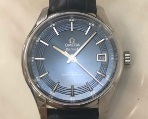 Omega De Ville Hour Vision Blue Co-Axial Master Chronometer 41mm 433.33.41.21.03.001