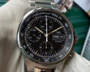 IWC GST Chronograph Black Dial Stainless Steel Automatic Ref. 3707