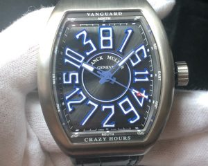 Franck Muller Vanguard Crazy Hours Limited Edition 20 Pcs V45 CH ACBR BL