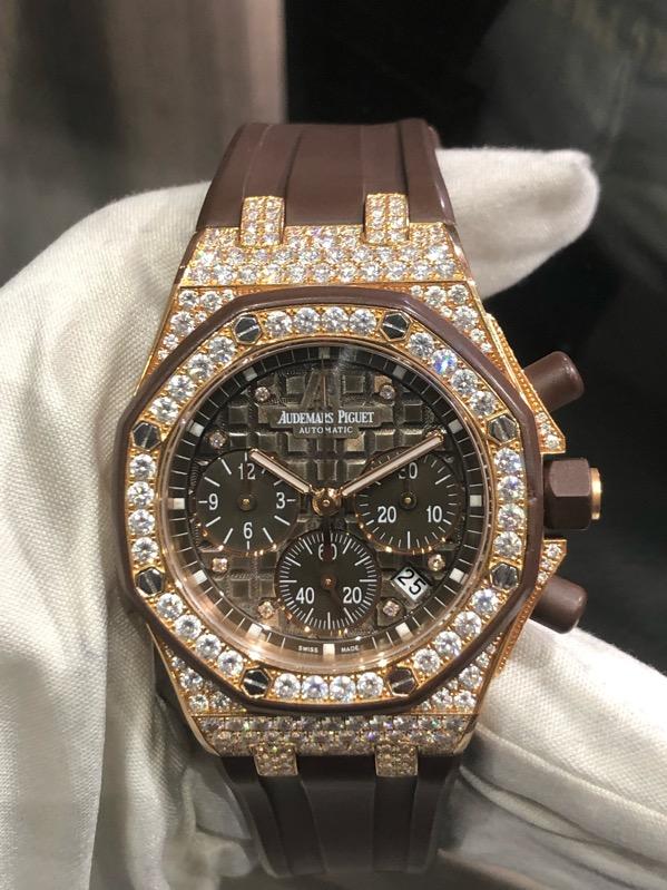 Audemars Piguet Royal Oak Offshore Ladies Diamonds Chronograph 26092OK.ZZ.D080CA.01