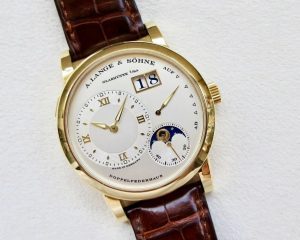A. Lange & Söhne Lange 1 Moon Phase 18K Yellow Gold 109.021