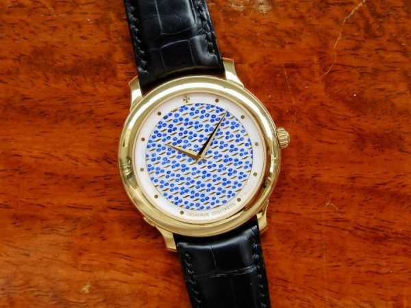 Vacheron Constantin ENAMEL DIAL 43060/2 Yellow Gold Limited Edition 10 Pcs