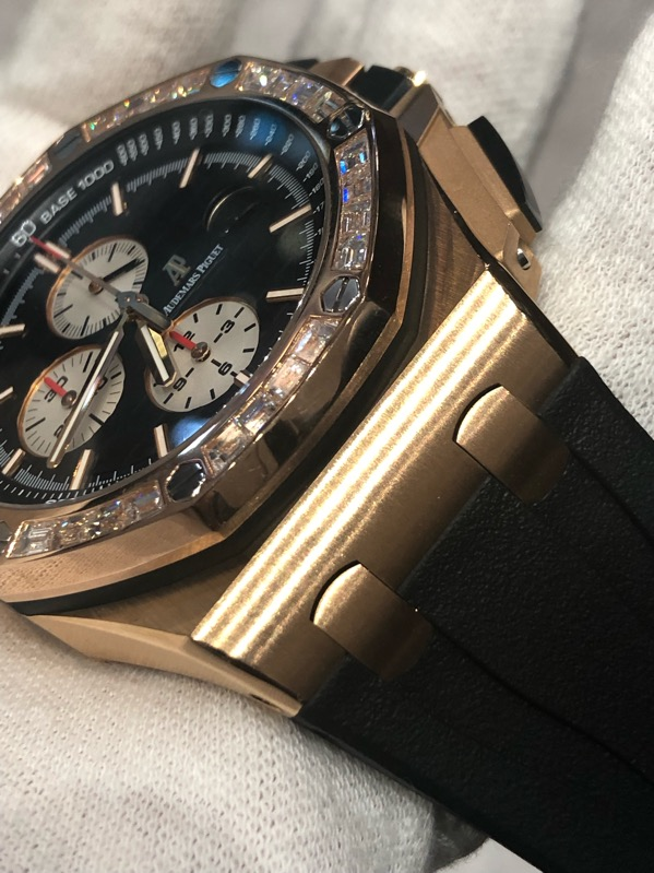 Audemars Piguet Royal Oak Offshore 18K Rose Gold44mm 26401OR.OO.A002.CA.01