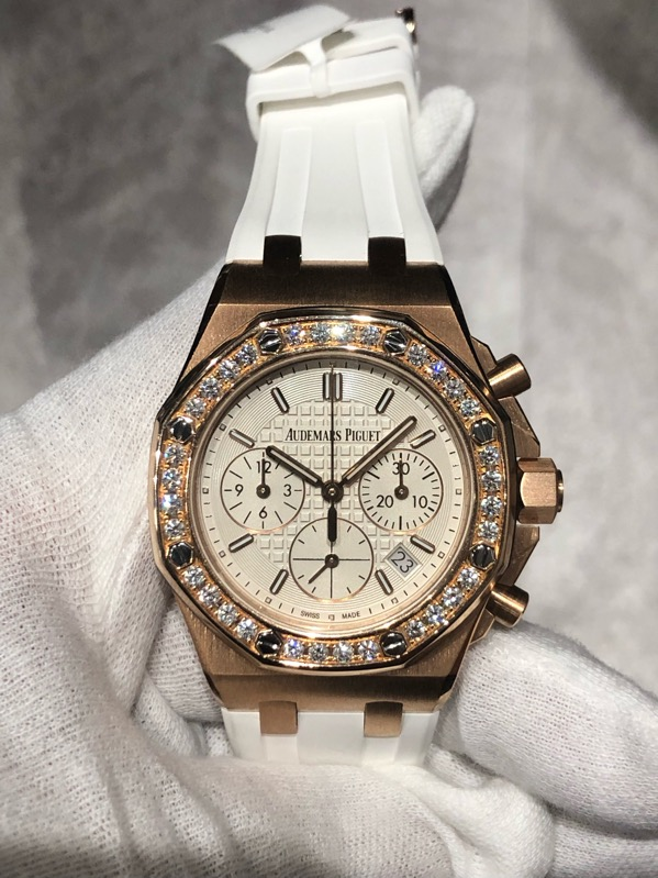 Royal Oak Offshore Ladies Diamonds Chronograph 26231OR.ZZ.D010CA.01