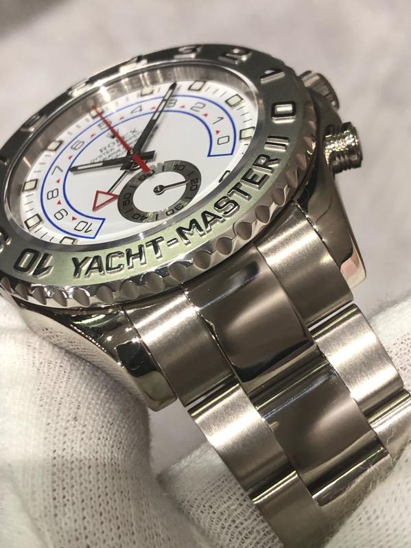 Rolex Yacht-Master II 18K White Gold 44mm 116689