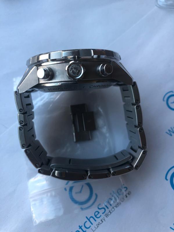 IWC Aquatimer Chronograph Stainless Steel Bracelet White Dial IW376802