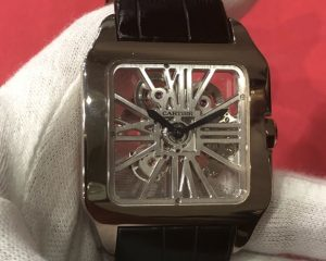 Cartier Santos XL Skeleton Palladium W2020018