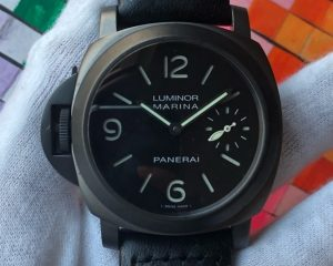 Panerai PAM026 K Marina Left-handed DLC Limited Edition 1000