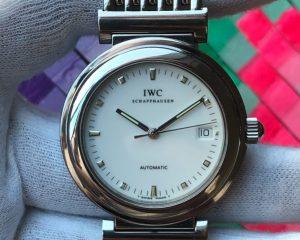 IWC Da Vinci SL White Dial 352802 Automatic Steel Bracelet