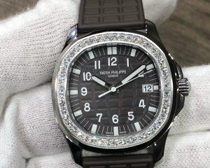 Patek Philippe Aquanaut Luce Brown Dial Ladies Watch 5067A-023