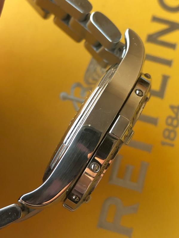 BREITLING Colt GMT 40mm Automatic A32350 /w SS Bracelet