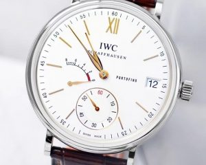 Portofino Hand Wound Eight Days 45mm IW510103 White Dial