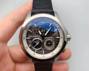 Girard Perregaux Traveller GMT Moonphase Black Dial 49655-11-231-BB6A C56082