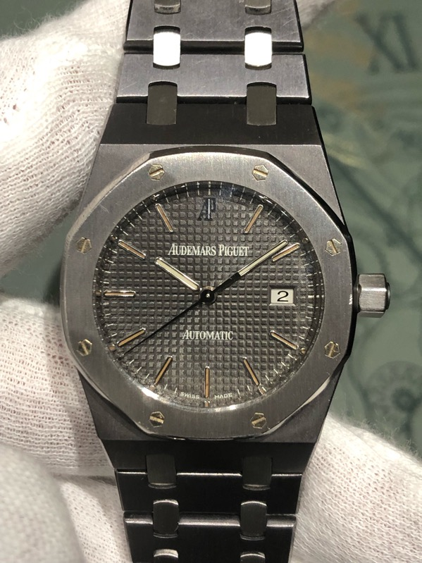 Audemars Piguet Royal Oak Tantalum/Steel 33mm 15000TT/OO/0789TT/01
