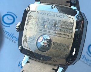 Hautlence Destination 02 Titanium Automatic  GMT Day/Night  Big Date