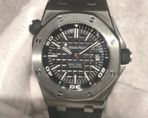 Audemars Piguet Royal Oak Offshore Diver Black Dail 15710ST.OO.A002CA.01