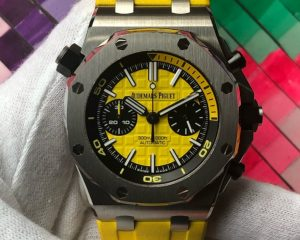 Audemars Royal Oak Offshore Yellow Diver Chronograph 26703ST.OO.A051CA.01