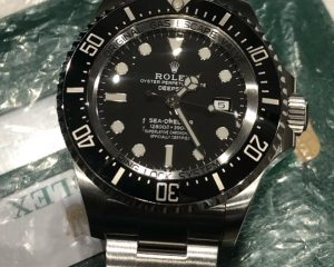 Rolex Deepsea 126660 2018 Novelty 44MM 2018 Card