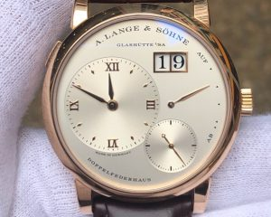 A Lange & Sohne Lange 1 Rose Gold 191.032 Big Date Power Reserve
