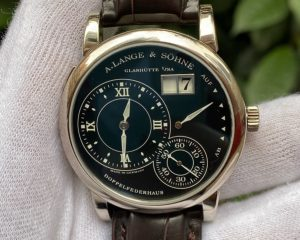 A. Lange & Söhne Lange 1 Luminous White Gold Black Dial 101.029