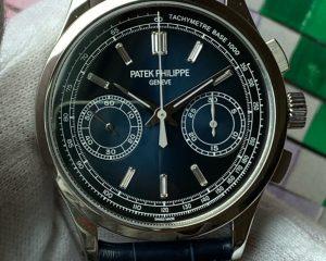 Patek PhilippeChronograph Platinum Blue Dial 5170P-001