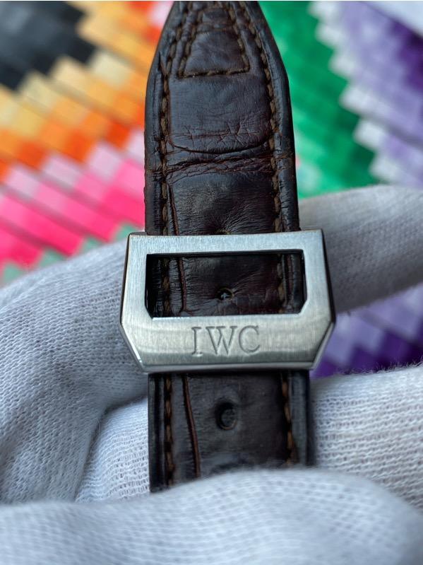 IWC Big Pilot IW500201 Steel 7 Days Power Reserve/date