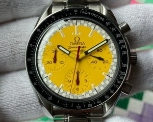 Omega Speedmaster Schumacher Yellow SS Automatic 3510.12