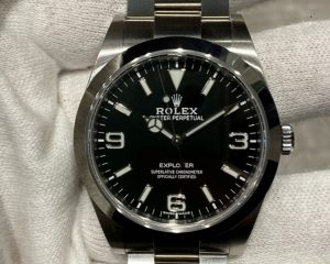 New Rolex Explorer I Black Dial 214270