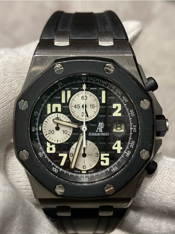 Audemars Piguet Royal Oak Offshore Chronograph RubberClad Black Dial 25940SK.OO.D002CA.03