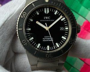 GST Aquatimer 2000M IW3536 Titanium