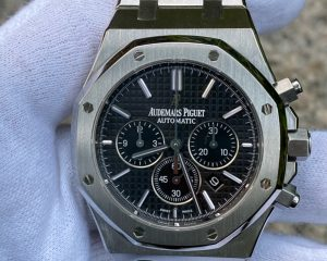 Audemars Piguet Royal Oak Chronograph Stainless Steel Black Dial 41mm 26320ST.OO.1220ST.01