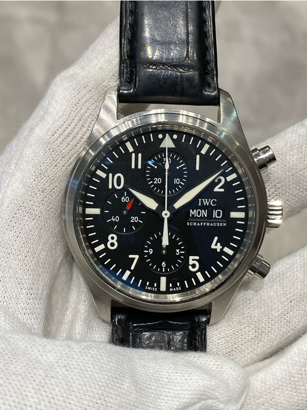IWC Pilot Watch Chronograph Automatic Day, Date Chronograph IW31701