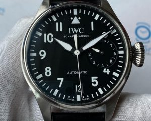 IWC Big Pilot Black Dial 7 Day Power Reserve IW500912