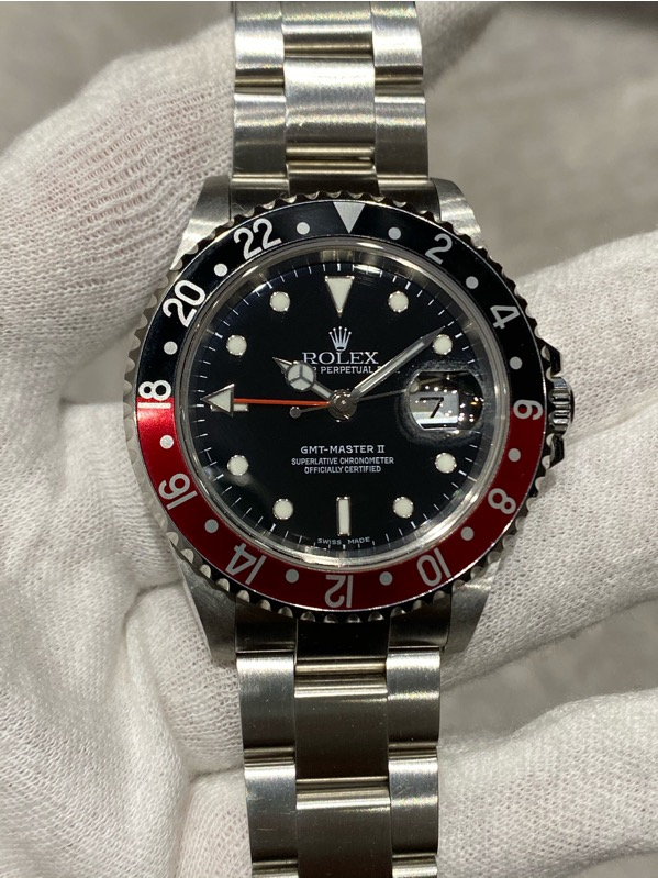 "GMT-Master II 16710 Red-Black ""Coke Bezel"" F Series"