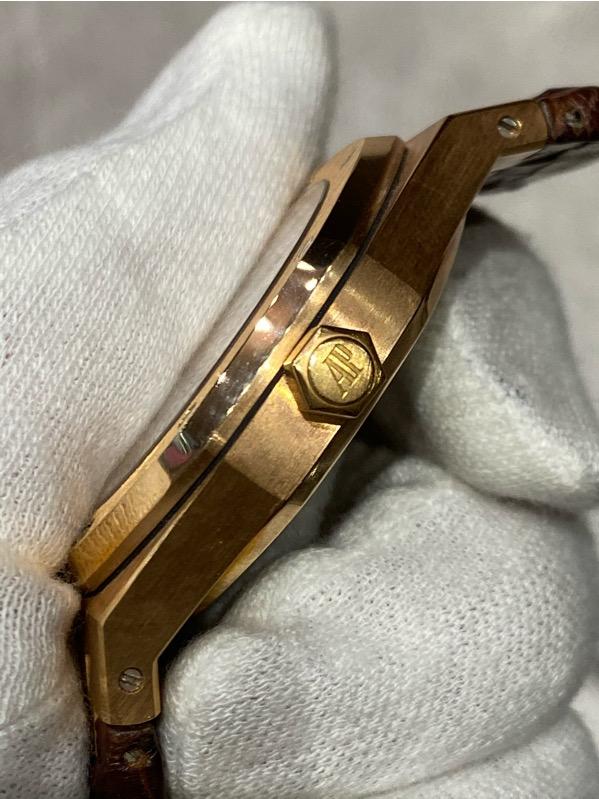 Audemars PiguetRoyal Oak Rose Gold White Dial 15300OR.OO.D088CR.02