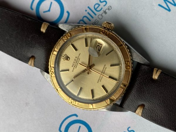 "Rolex Datejust Turn-O-Graph ""Thunderbird"" 1625 Two Tone"