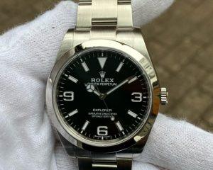 Mint Rolex Explorer I Black Dial 214270