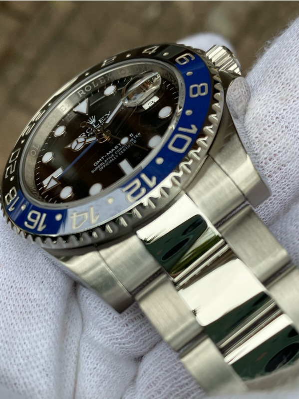 Rolex GMT-Master II Batman Oyster 116710BLNR 40mm
