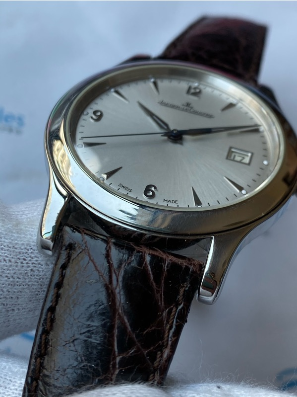 Jaeger-LeCoultre Master Control Date 147.8.37.S Steel 40mm Silver Dial