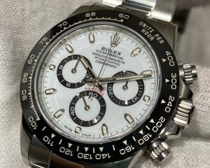 Rolex Daytona Ceramic Bezel 116500LN White Dial