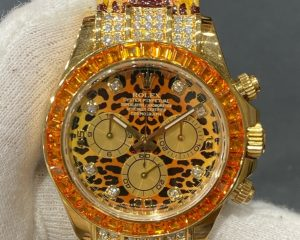 Rolex Daytona 'Leopard' Yellow Gold 116598SACO