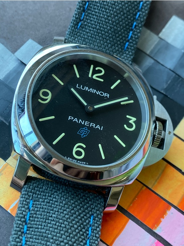 Panerai PAM774 Luminor Base Blue OP Logo 3 Days 44mm