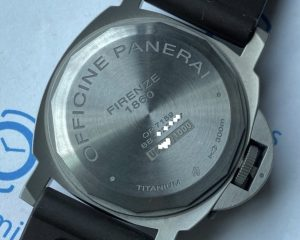 Panerai PAM797 Luminor Titanium 8 Days Power Reserve Brown Dial 44 mm